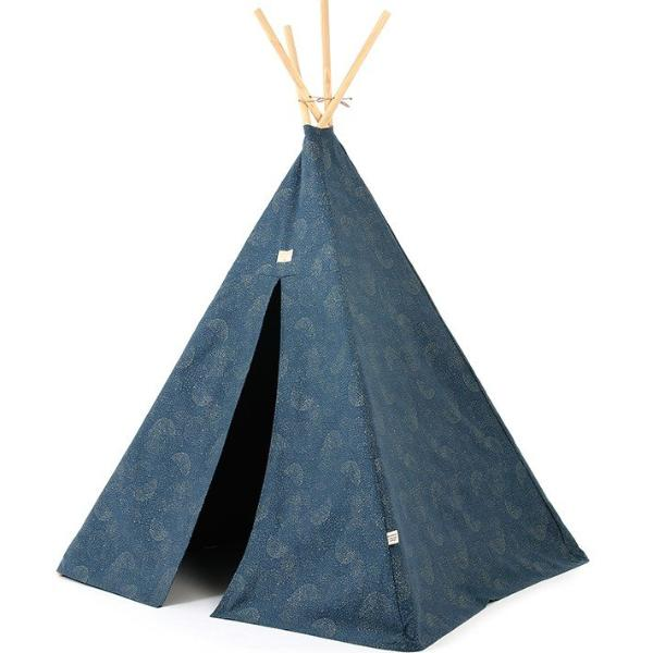 Nobodinoz tipi Phoenix - Gold bubble/Night blue - DE GELE FLAMINGO - Kids concept store