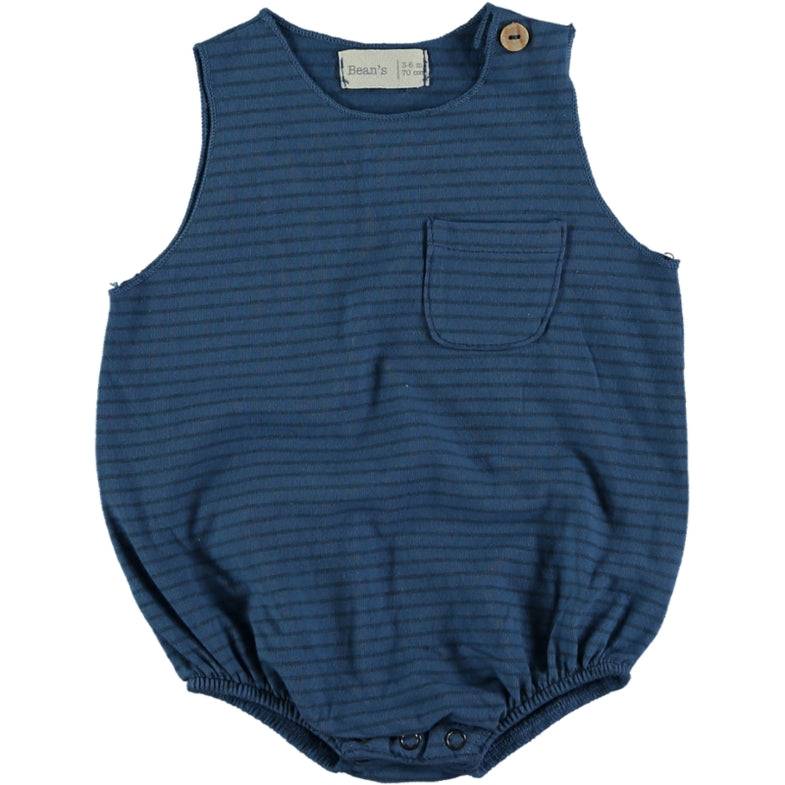 Bean's Crab Jersey Body | Blue
