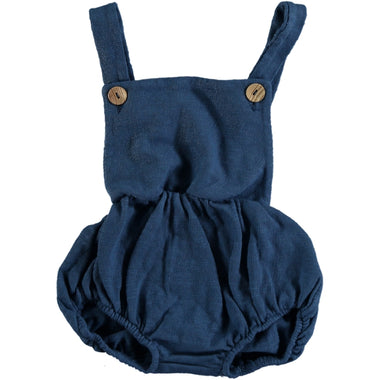 Bean's Dolphin Summer Fleece Romper | Blue
