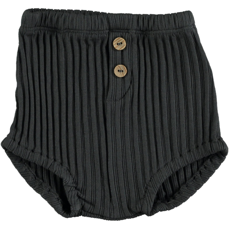 Bean's Sand Ribbed Bloomers | Anthracite