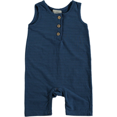 Bean's Lobster Jersey Playsuit | Blue