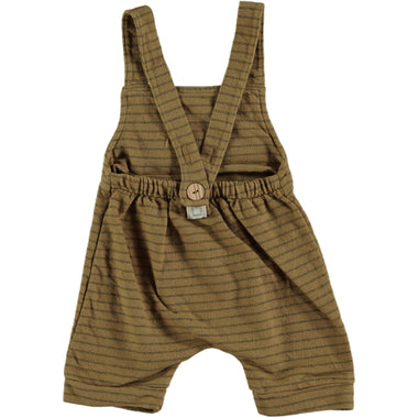 Bean's Jellyfish Striped Romper | Camel