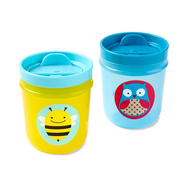 Skip Hop Set 2 Drinkbekers Uil/Bij