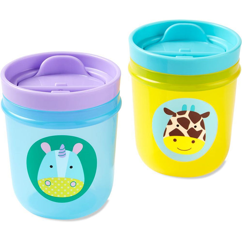 Skip Hop Set 2 Drinkbekers Unicorn/Giraf