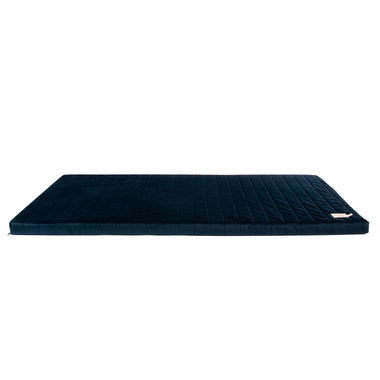 Nobodinoz Zanzibar Velvet Matras | Night Blue