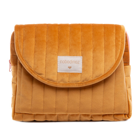 Savanna Velvet Maternity Case | Farniente Yellow