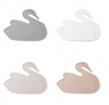 By Lille Vilde placemat swan wit - DE GELE FLAMINGO - 2