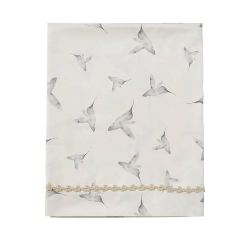 Mies & co ledikantlaken 110x140cm | Little Dreams Offwhite