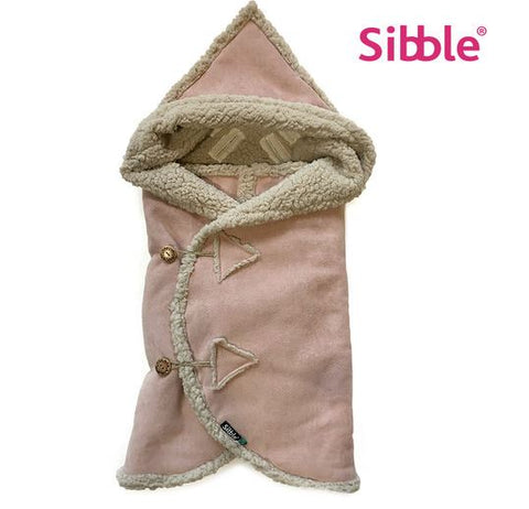 Sibble Universele Voetenzak Lammy - Powder Pink