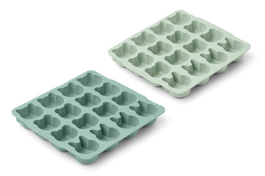 Liewood Sonny Ice Cube Tray 2-pack | Mint Mix