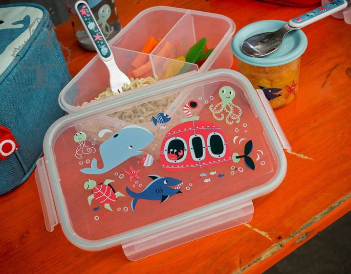 SugarBooger Lunch box bento What did the fox eat