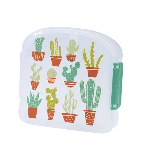 SugarBooger sandwich box Happy Cactus