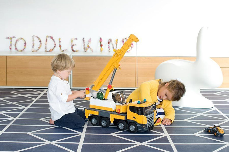 Toddlekind Speeltapijt Nordic | Petroleum