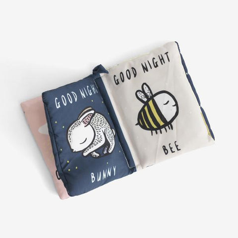Wee Gallery Baby soft Book - Nighttime Goodnight You