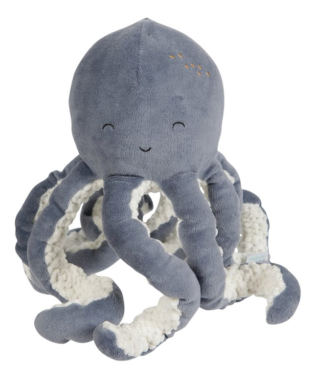 Little Ducth Knuffel Octopus | Ocean Blue