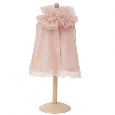 By Astrup Doll Tule Cape Voor Pop | Lichtroze