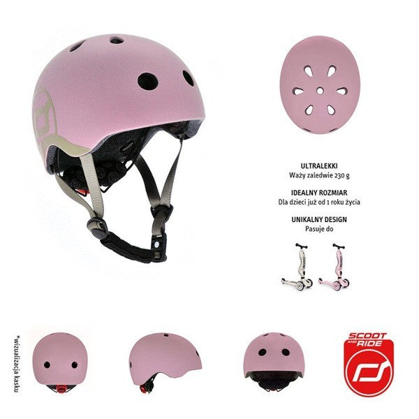 Scoot & Ride Helm X SMALL - Steel