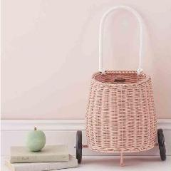Olli Ella Luggy basket small - Rose