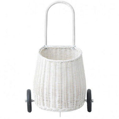 Olli Ella Luggy basket small - White