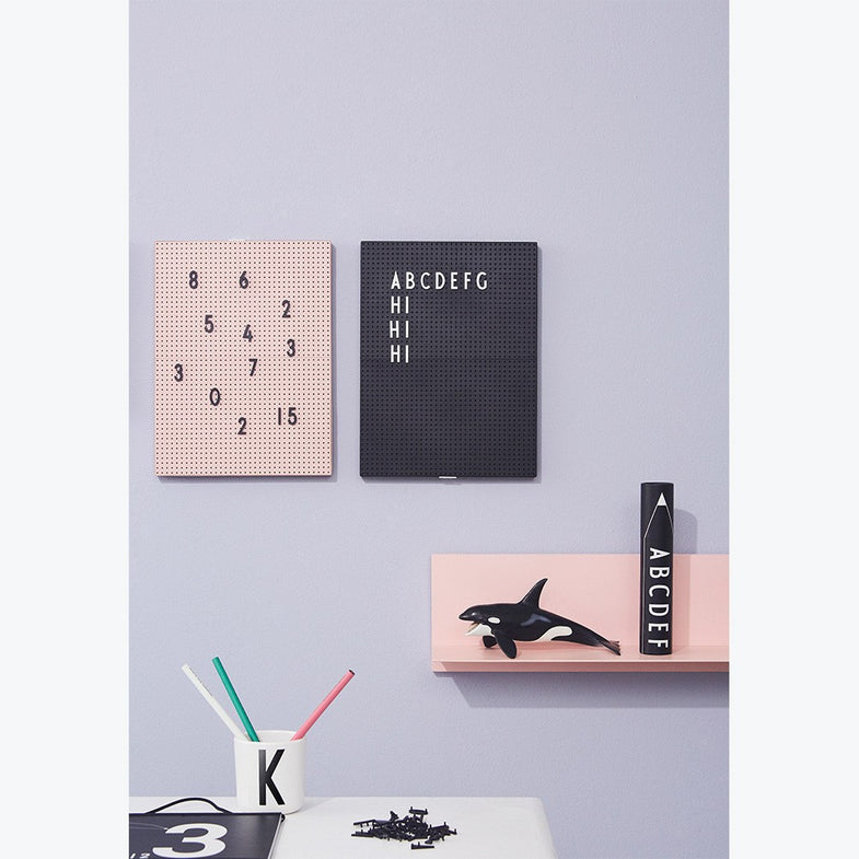 Design Letters letterbox voor Message Board Wit - DE GELE FLAMINGO - Kids concept store
