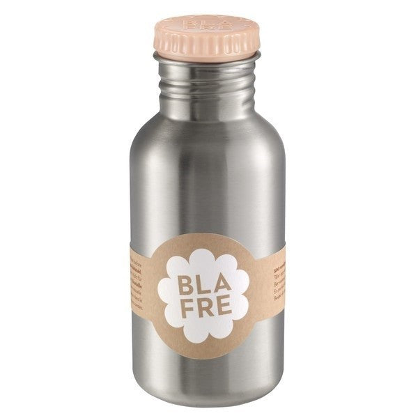 Blafre drinkfles 500ml peach - DE GELE FLAMINGO - Kids concept store