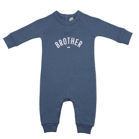 Bob & Blossom Playsuit Denim Blue Brother