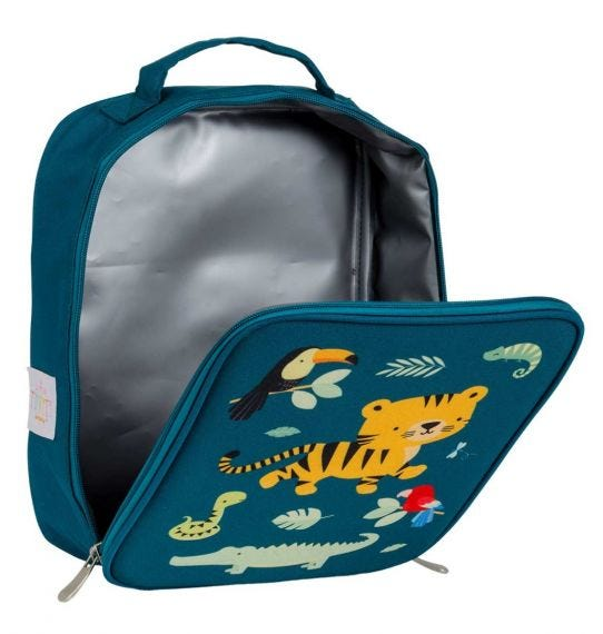 A Little Lovely Company Cool Bag - Thermische Lunch tas - Jungle Tiger
