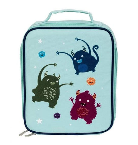 A Little Lovely Company Cool Bag - Thermische Lunch tas - Monsters