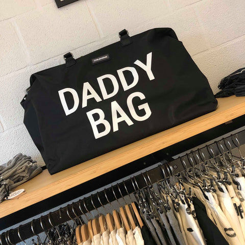 Childwood weekendtas XL Daddy Bag zwart