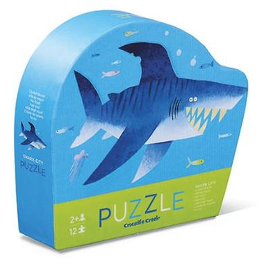 Crocodile Creek puzzel 12 stukken - Shark