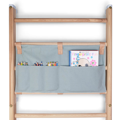 Kaos Endeløs Wall Bar Klimrek Organiser | Dusty Blue