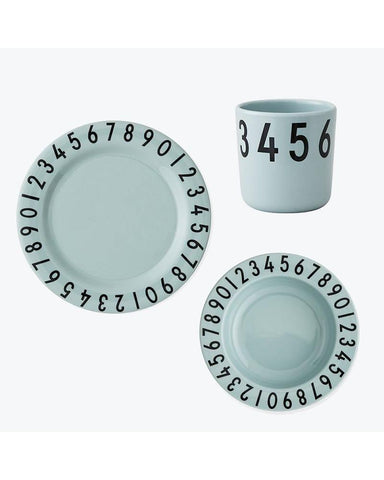 Design Letters eetset Numbers Green