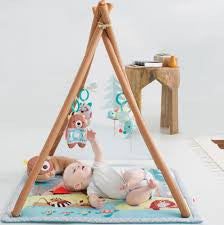 Skip hop tipi speeltapijt activity gym - DE GELE FLAMINGO - 1