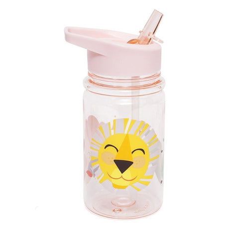 Petit Monkey drinkfles Lion Pink