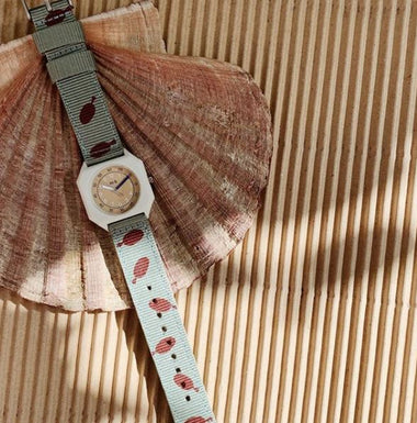 Mini Kyomo Horloge | Fishes