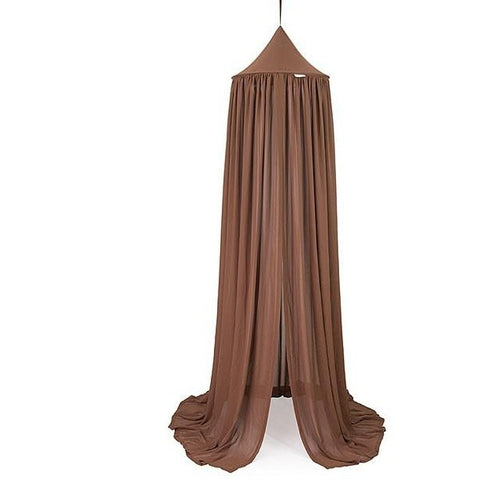 Cotton & Sweets Klamboo 235cm voile Chocolate