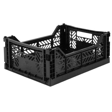 Eef Lillemor Folding Crate Midi | Black