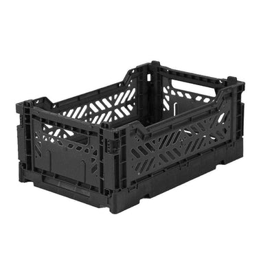 Lillemor Folding Crate Mini | Black