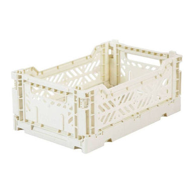 Lillemor Folding Crate Mini | Coco nut Milk