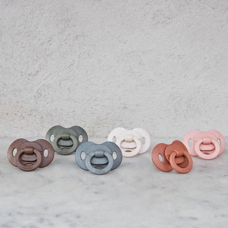 Elodie Details Fopspeen Bamboe Silicone | Faded Rose
