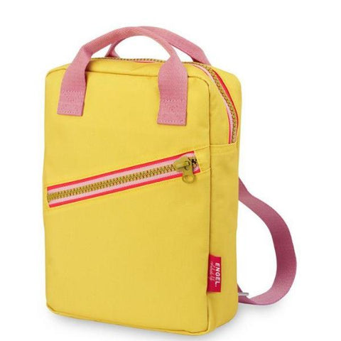 Engel. Rugzak Small | Zipper Yellow