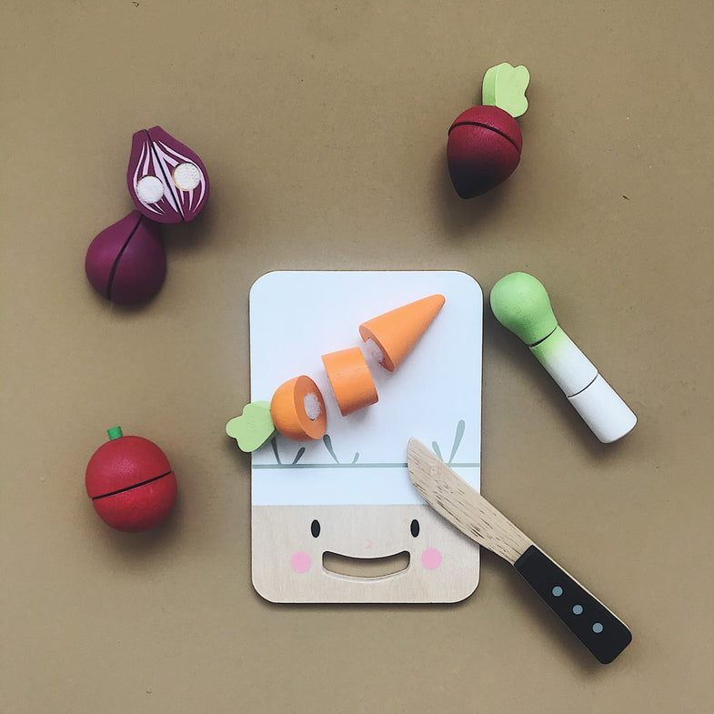 Tender Leaf Toys - Mini chef chopping board Snijset