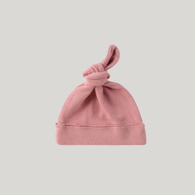 Susukoshi Knotted Hat | Pink Clay