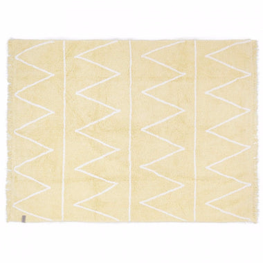 Lorena Canals machinewasbaar tapijt 120x160cm Hippy Yellow
