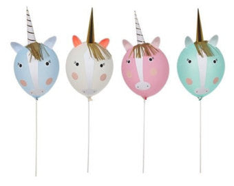 Meri Meri Balloon deco kit Unicorn