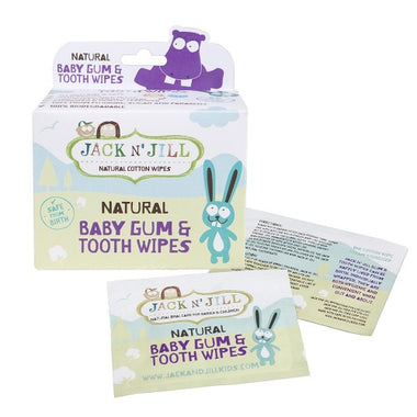 Jack N' Jill organic cotton wipes - baby tandvlees