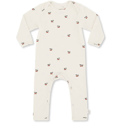 Konges Sløjd onesie hygsoft playsuit - Cherry