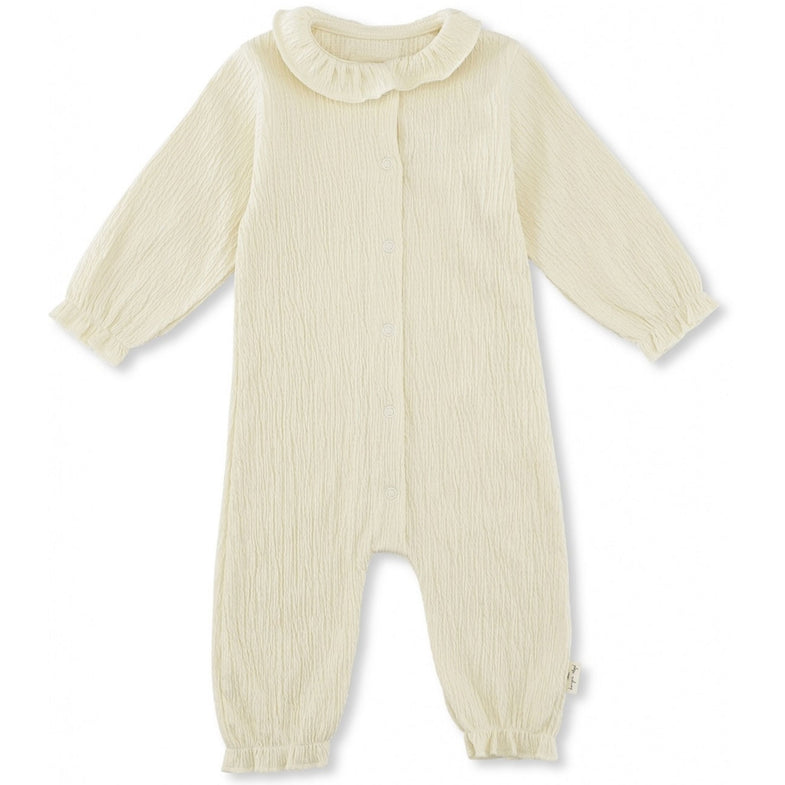 Konges Sløjd newborn Chleo Onesie Off White