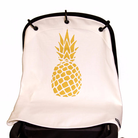 Kurtis pram curtain Pineapple gold