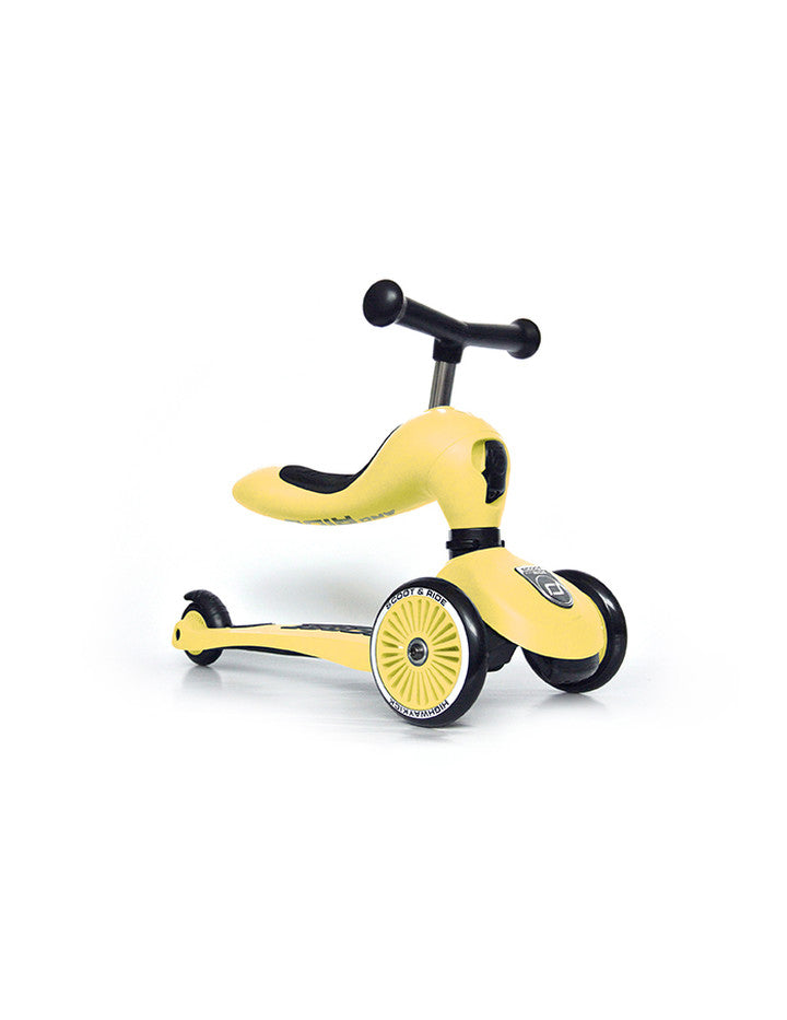 Scoot & Ride Step Highwaykick 1 - Lemon